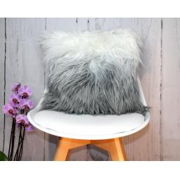 Faux Fur Ombre Pre-Filled Cushion
