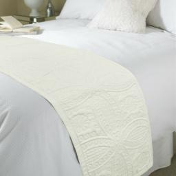 Parisienne Embossed Bed Runner