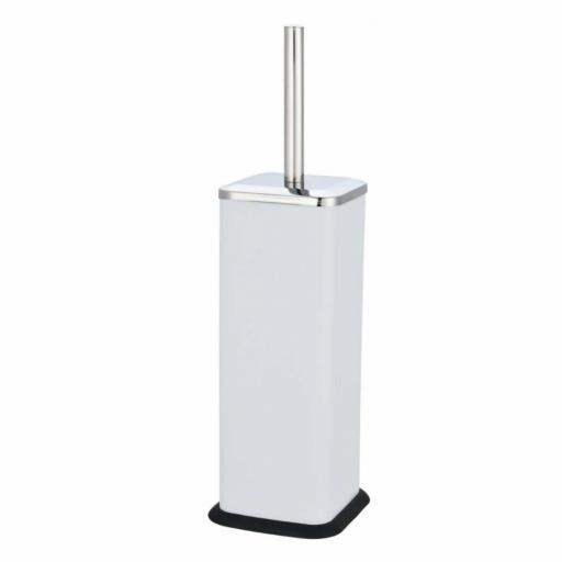 Axus Square Toilet Brush & Holder