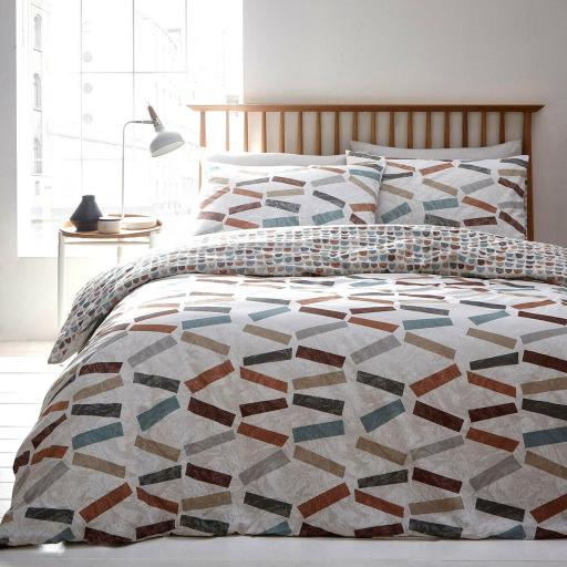 Print Collection Ludo Reversible Duvet Set