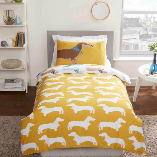 Studio Art Sausage Dog Duvet Set