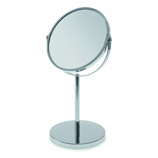 Round Pedestal Swivel Mirror