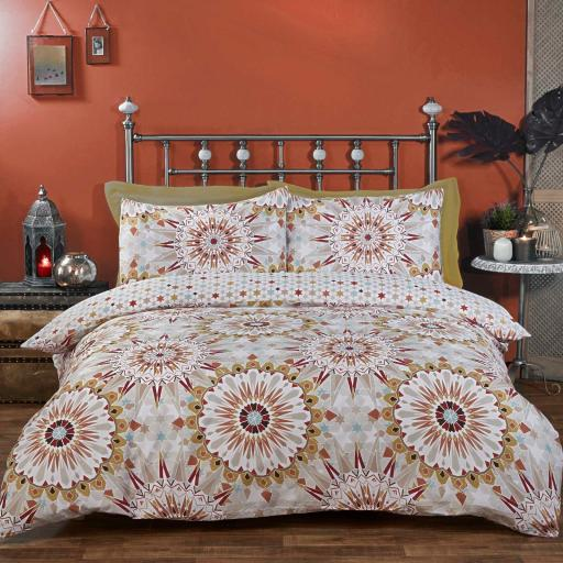 Made With Spirit Morocco Reversible Duvet Set
