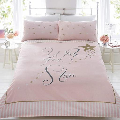 Made With Love Wish Upon A Star Duvet Set