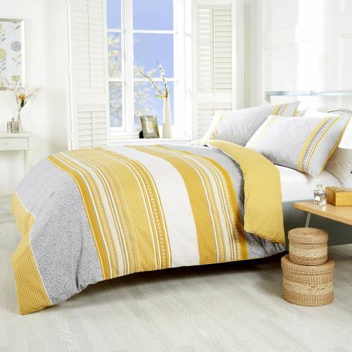 Made With Spirit Havana Reversible Duvet Set