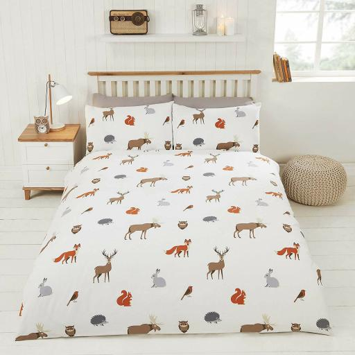 Finest Homeware Country Animals Duvet Set