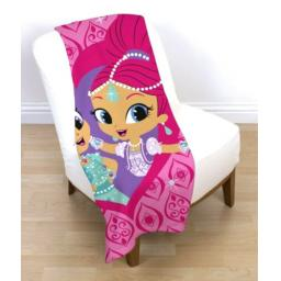 Nick Jr. Shimmer & Shine Fleece Blanket