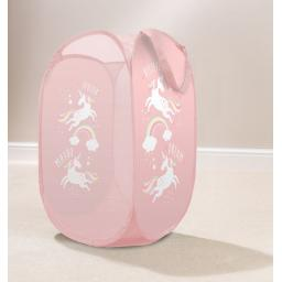 Rainbow Unicorn Pop Up Laundry Hamper