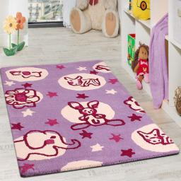 Unique Kids Animals Wool Rug