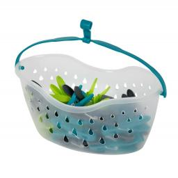 Durable Peg Basket Holder & Pegs