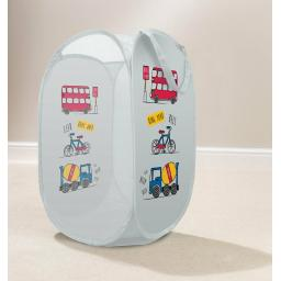 Transport Trucks Pop Up Laundry Hamper