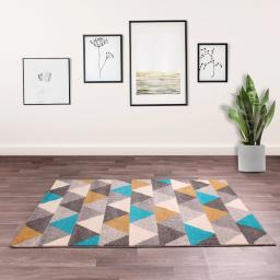 Spirit Triangles Flat Woven Rug