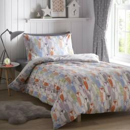 Kids Club Owls Duvet Set
