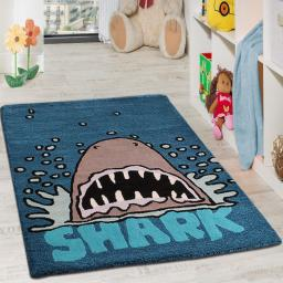 Unique Kids Shark Wool Rug