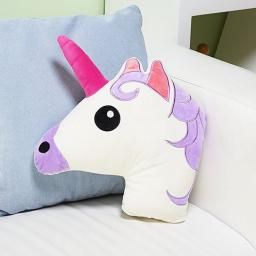 Mucky Fingers Unicorn Novelty 3D Cushion