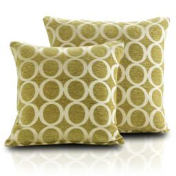 OH Embroidered Chenille Cushion