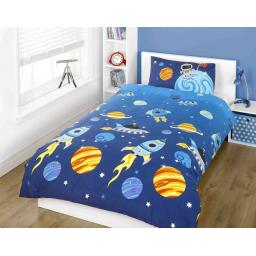Kidz Rockets Duvet Set