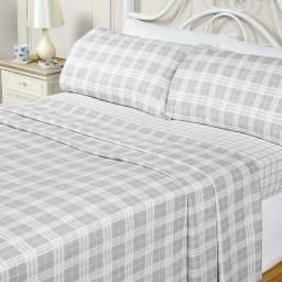 Quebec 3 Piece Flannelette Sheet Set