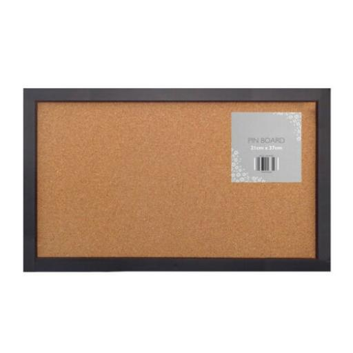 Metal Frame Design Cork Pin Board