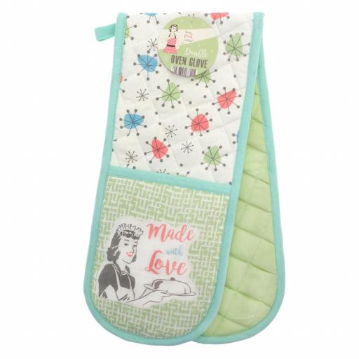 Novelty Made With Love Double Oven Gloves