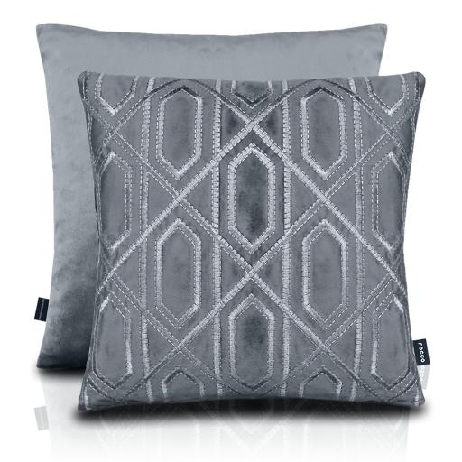 Chelsea Metallic Embroidered Cushion