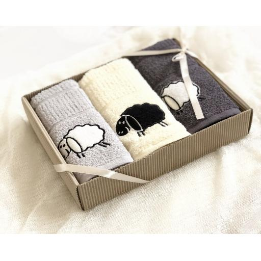 Rigg's Sheep Boxed Kitchen Towels