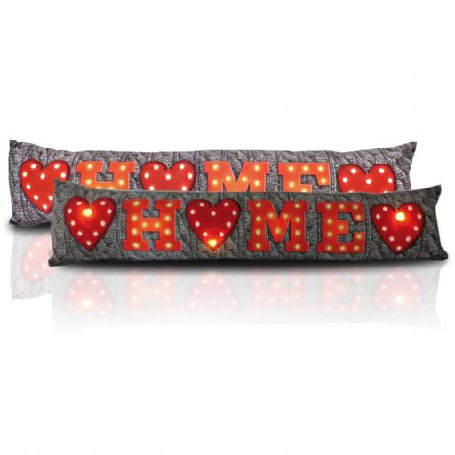 Home LED Light Up Draught Excluder