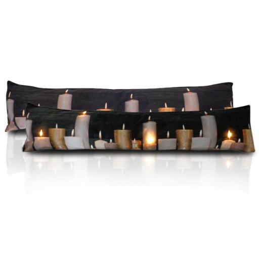 Candles LED Light Up Draught Excluder