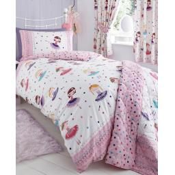 Kids Club Ballerina Reversible Duvet Set