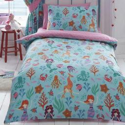 Kids Club Mermaids Reversible Duvet Set