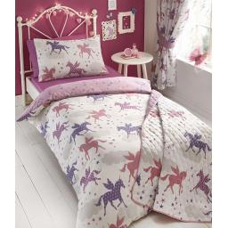 Kids Club Divine Unicorn Reversible Duvet Set