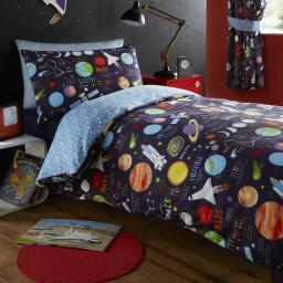 Kids Club Planets Reversible Duvet Set