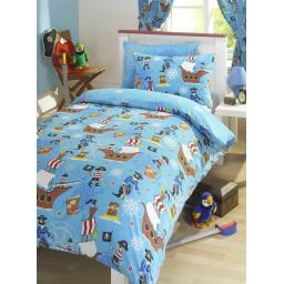 Kids Club Pirates Reversible Duvet Set