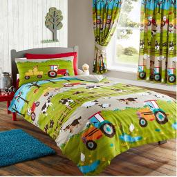 Kids Club Farmyard Reversible Duvet Set