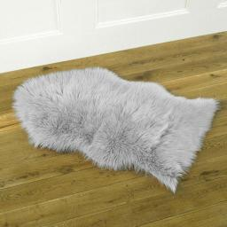 Faux Fur Sheepskin Design Rug