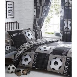 Kids Club Shoot Reversible Duvet Set