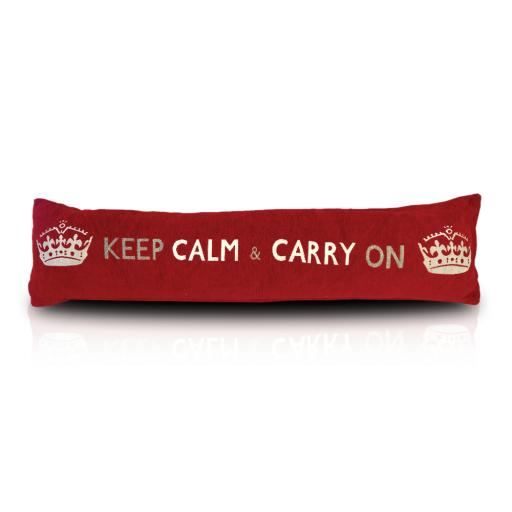 Keep Calm & Carry On Draught Excluder