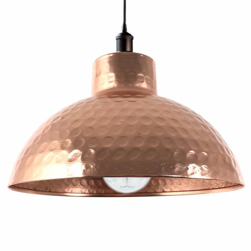 Hammered Dome Easy Fit Light Shade