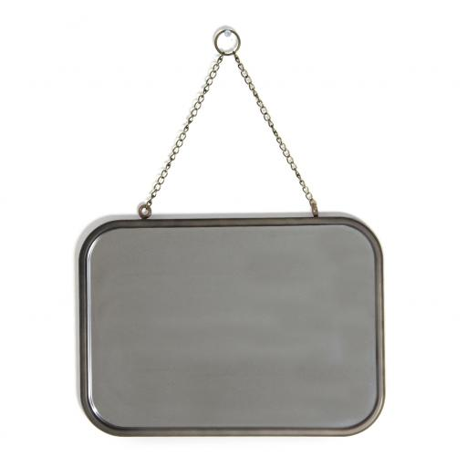 Rectangular Framed Chain Mirror