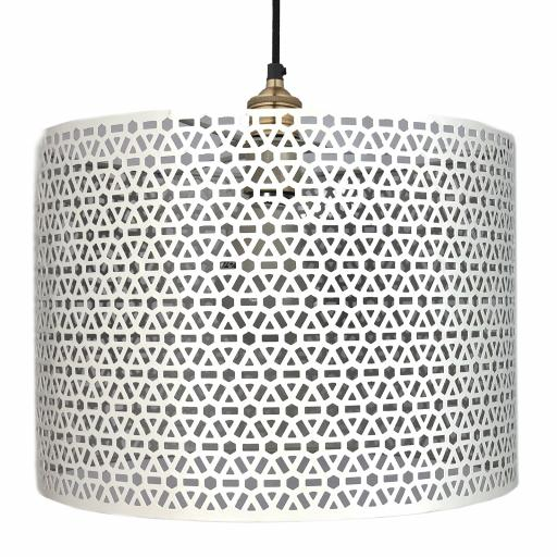 Geo Metal Easy Fit Light Shade