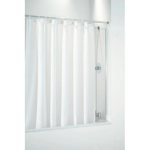 Plain Polyester Shower Curtain