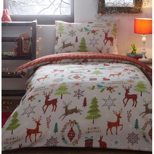 Mid Winter Toddler Duvet Cover Set