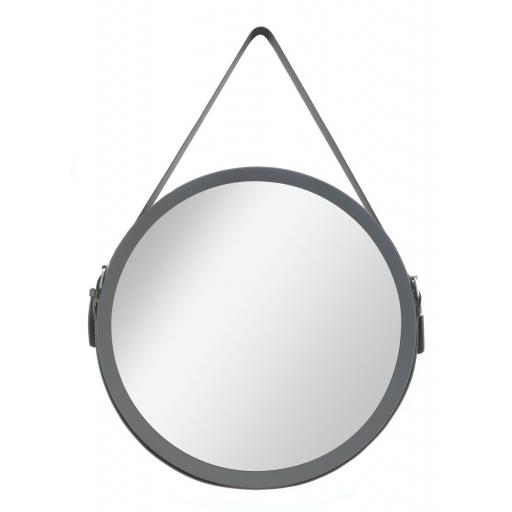 Moda Round Hang On Mirror