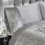 Belle Maison Crushed Velvet Duvet Set Swatch